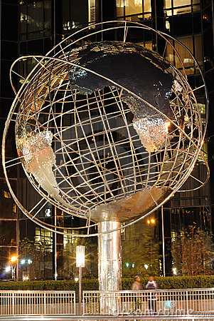 Globe at Trump Tower Editorial Photography