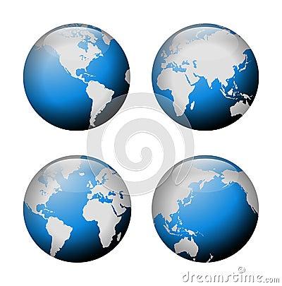 Globe view