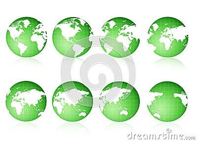 Globe views Green