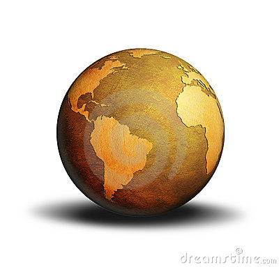 Free Globe World Royalty Free Stock Image - 3381896