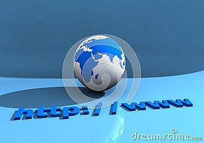 Globe and WWW 002