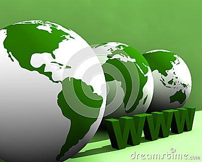Globe and WWW 003