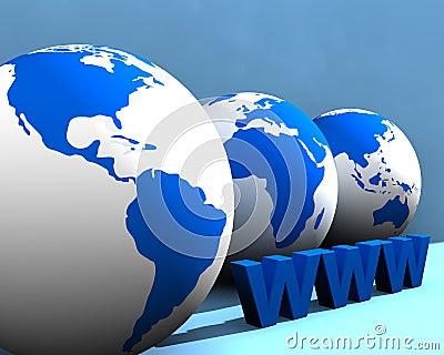 Globe and WWW 004