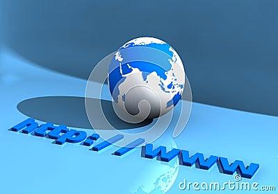 Globe and WWW 005