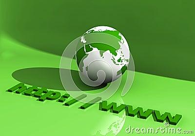 Globe and WWW 006