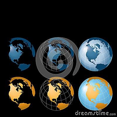 Globes Background