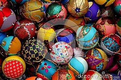 Globes for Christmas tree