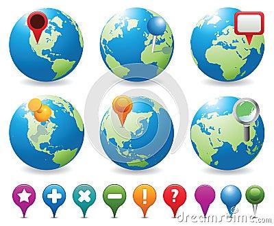 Globes&Navigation Icons