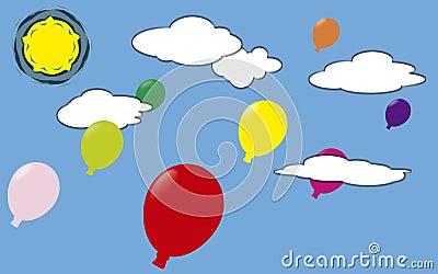 Globi dei colori.