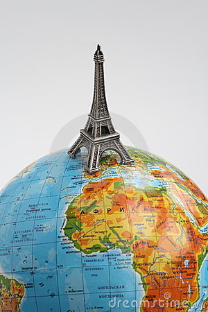 Globo con la Torre Eiffel