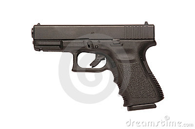 Glock 9mm handgun