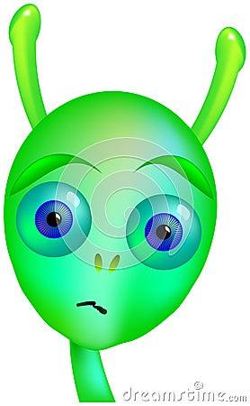 Gloomy Alien