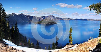 Crater Lake National Park, Oregon United States