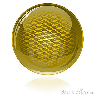 Glossy abstract sphere