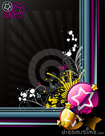 Glossy abstract vector