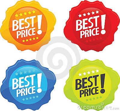 Glossy Best Price Icons 2