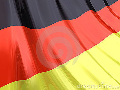 Glossy Flag of Germany
