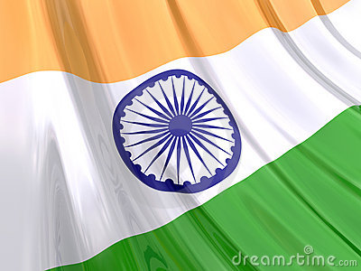 Glossy Flag of India