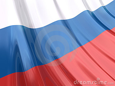 Glossy Flag of Russia