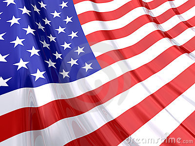 Glossy Flag of USA