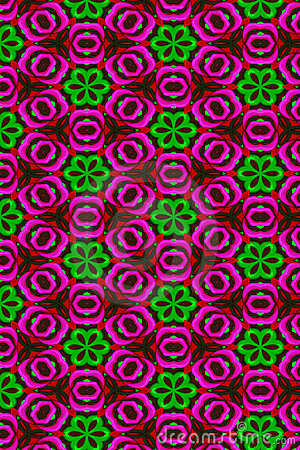 Free Glossy Flower Pattern Royalty Free Stock Photos - 7310488