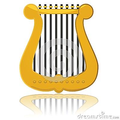 Glossy harp