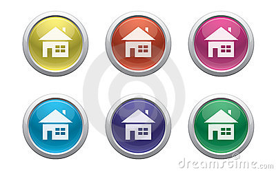 Glossy home buttons