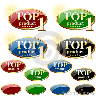 Glossy Label TOP product
