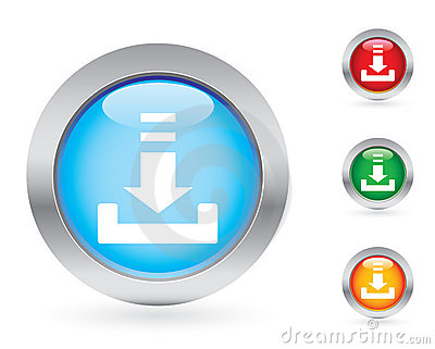Print Button Royalty Free Stock Image - Image: 3022416