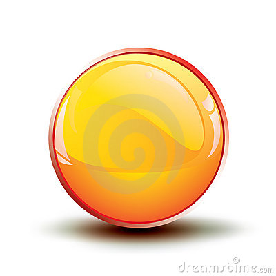 Glossy shiny buttons / vector icon