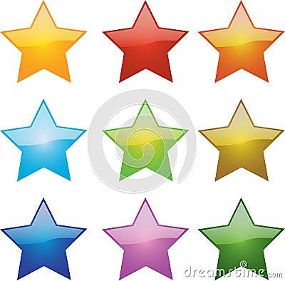 Glossy Stars
