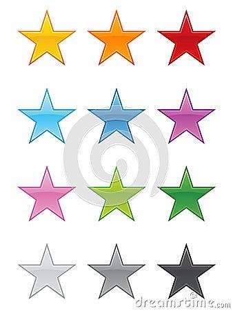 Glossy Stars EPS