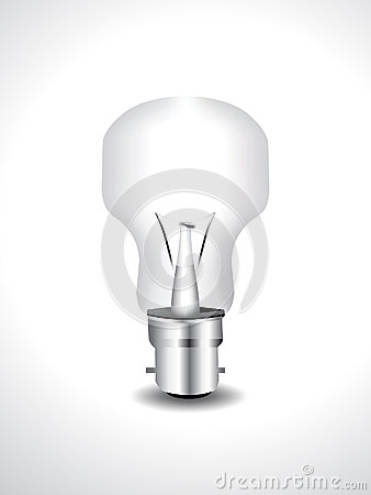 Glossy Vector Bulb Icon