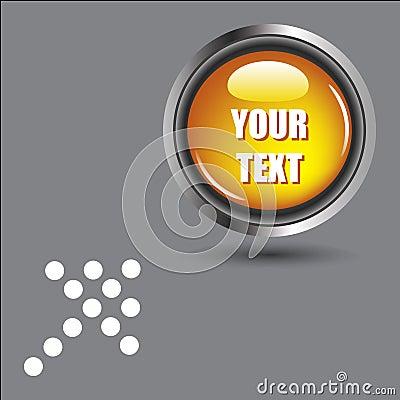 Glossy Vector Button -EPS VECTOR-