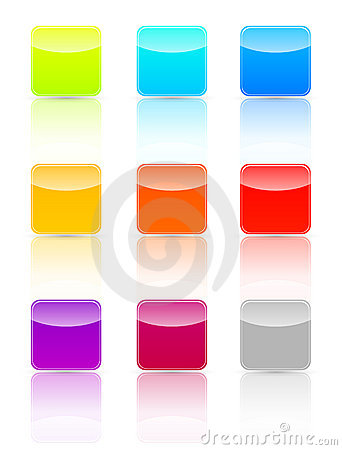 Free Glossy Web Buttons Stock Photos - 16262153