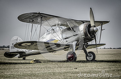 Gloster Gladiator Editorial Photo