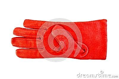 Glove red