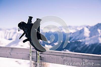 Ski relax scene