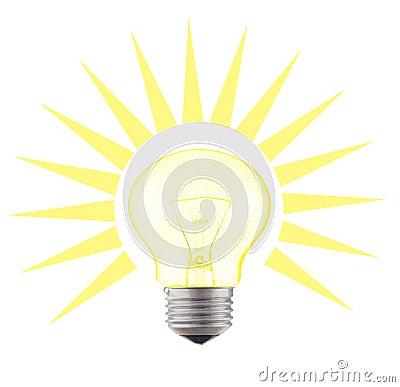 Glow-lamp