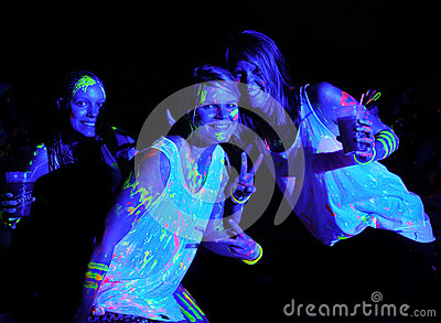 Glow Run Port Elizabeth 2014 South Africa Editorial Photography