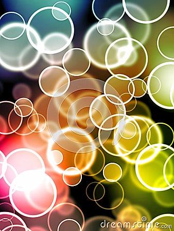 Glowing bubbles