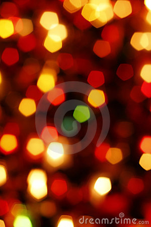 Glowing Christmas light