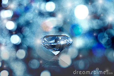 Glowing diamond