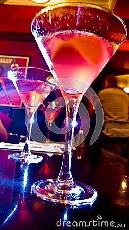 Glowing Martinis