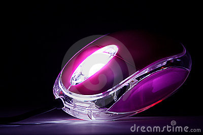 Glowing Mouse