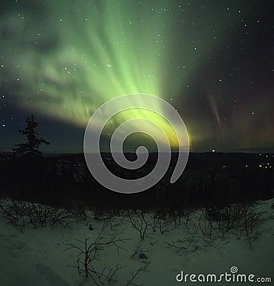 Free Glowing Night Sky Royalty Free Stock Image - 2066736