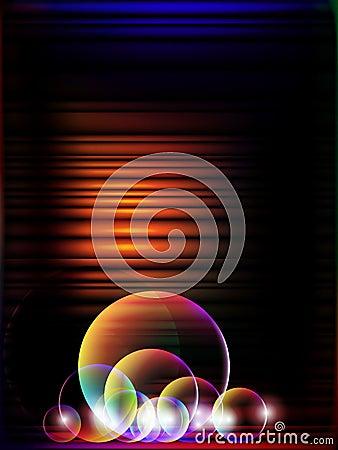Glowing stripes,