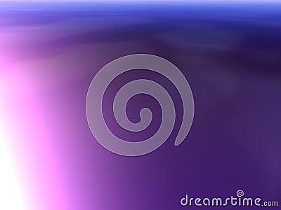 Glowing violet