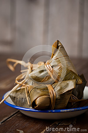Free Glutinous Rice Steam Dumpllings Stock Photo - 61151260