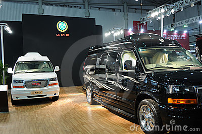 Gmc booth Editorial Photo